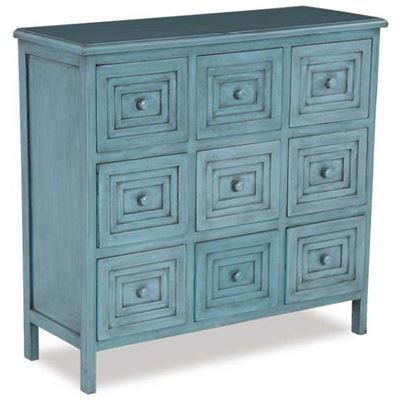 Picture of 9 DRAWER ACCENT CHEST