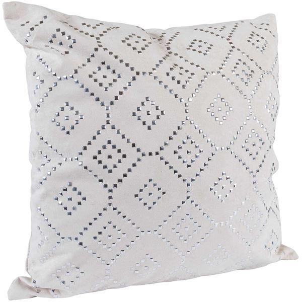 Foto para 18x18 White Diamond Pillow