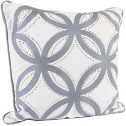 Picture of 18x18 Cream Lattice Pillow