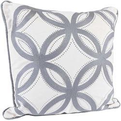 Picture of 18x18 Cream Lattice Pillow