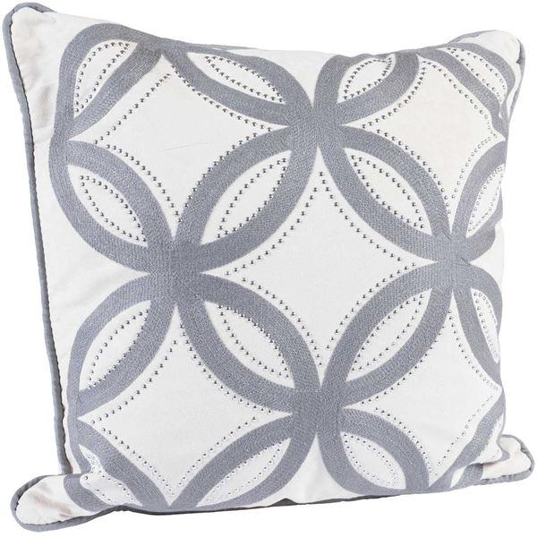 Foto para 18x18 Cream Lattice Pillow