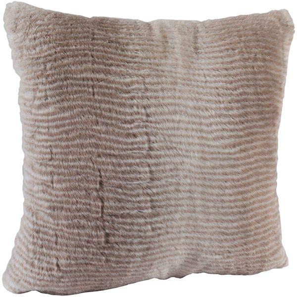 Picture of Mink Faux Fur 18x18 Pillow