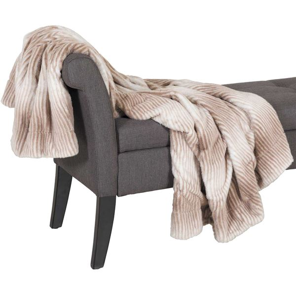 Picture of Mink Faux Fur 47x59 Blanket