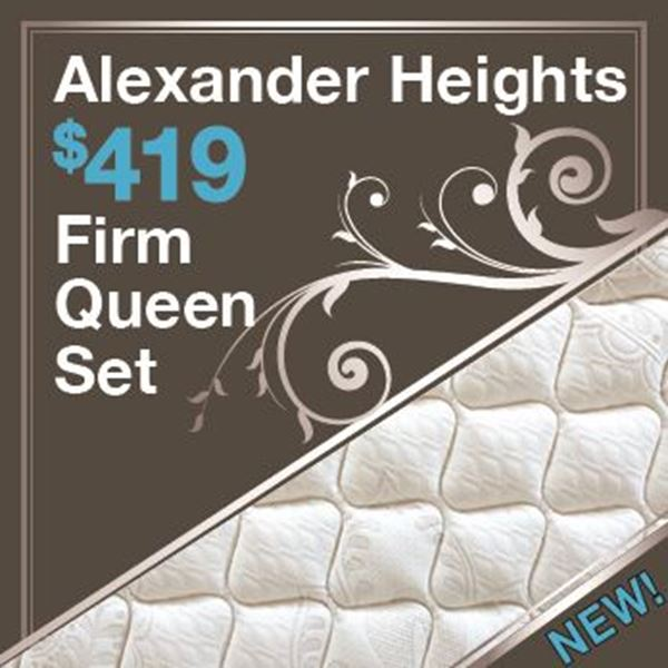 Picture for category $419 Alexander Heights Queen Set