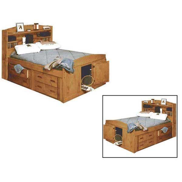 Captains Bed Home Design Ideas