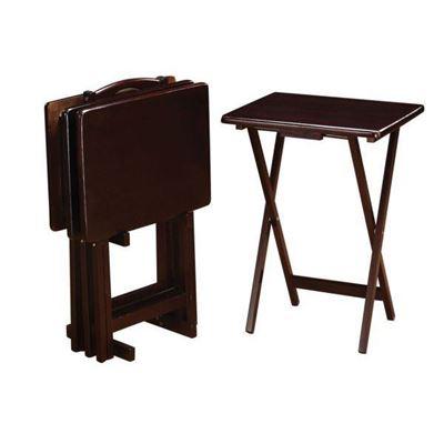 Imagen de 5-Piece Tray Table Set, Capcino *D