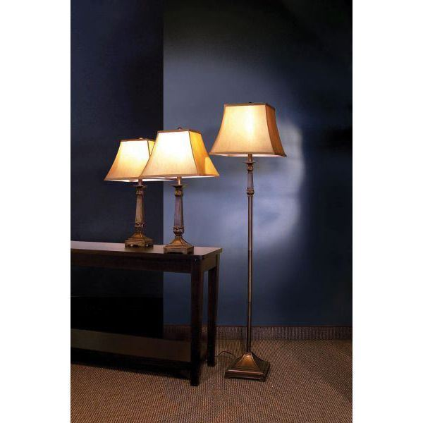 Foto para 3 Pc Lamp Set, Brown *D