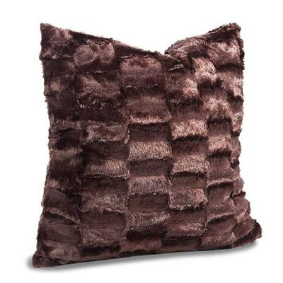 Picture of 18X18 Pillow Brown Faux Fur *P