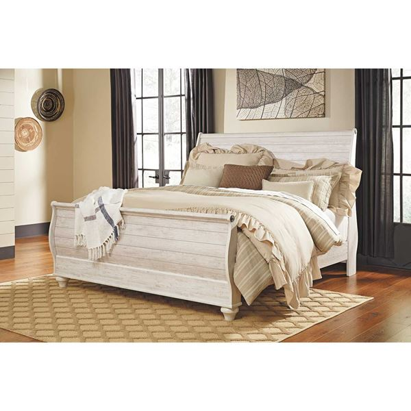 Willowton King Sleigh Bed B267-KSLEIGHBED