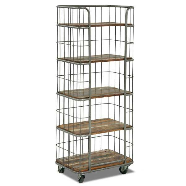 Sie A1113 Vintage Bakers Rack By Shivam International Afw