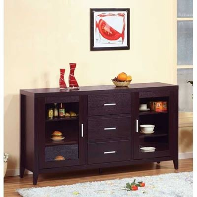 """Picture of 60"""" TV Stand, Red Cocoa"""