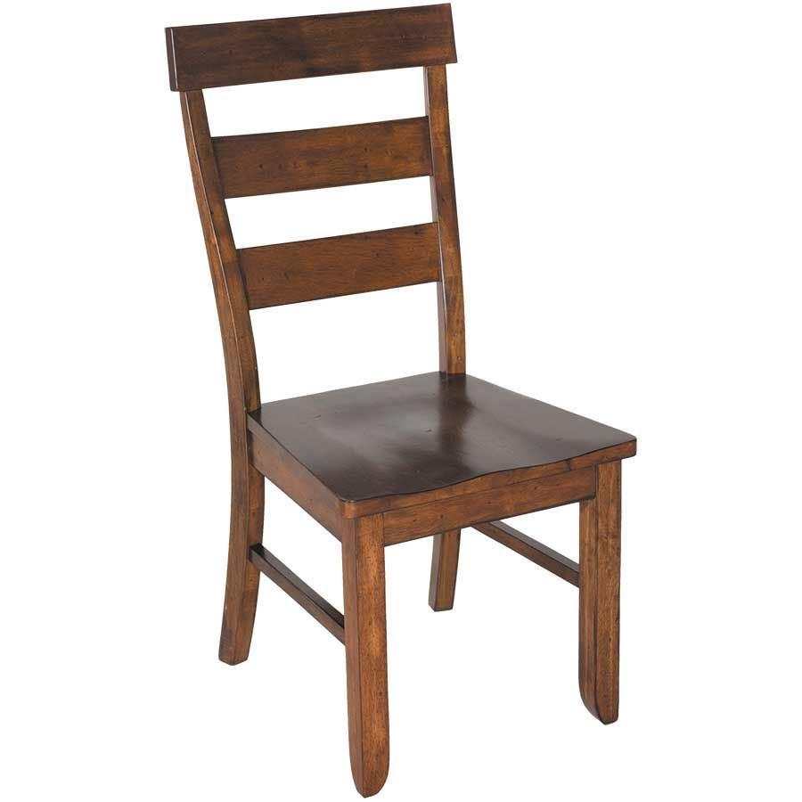 SaddleUp All Wood Dining Chair HM983-CHR