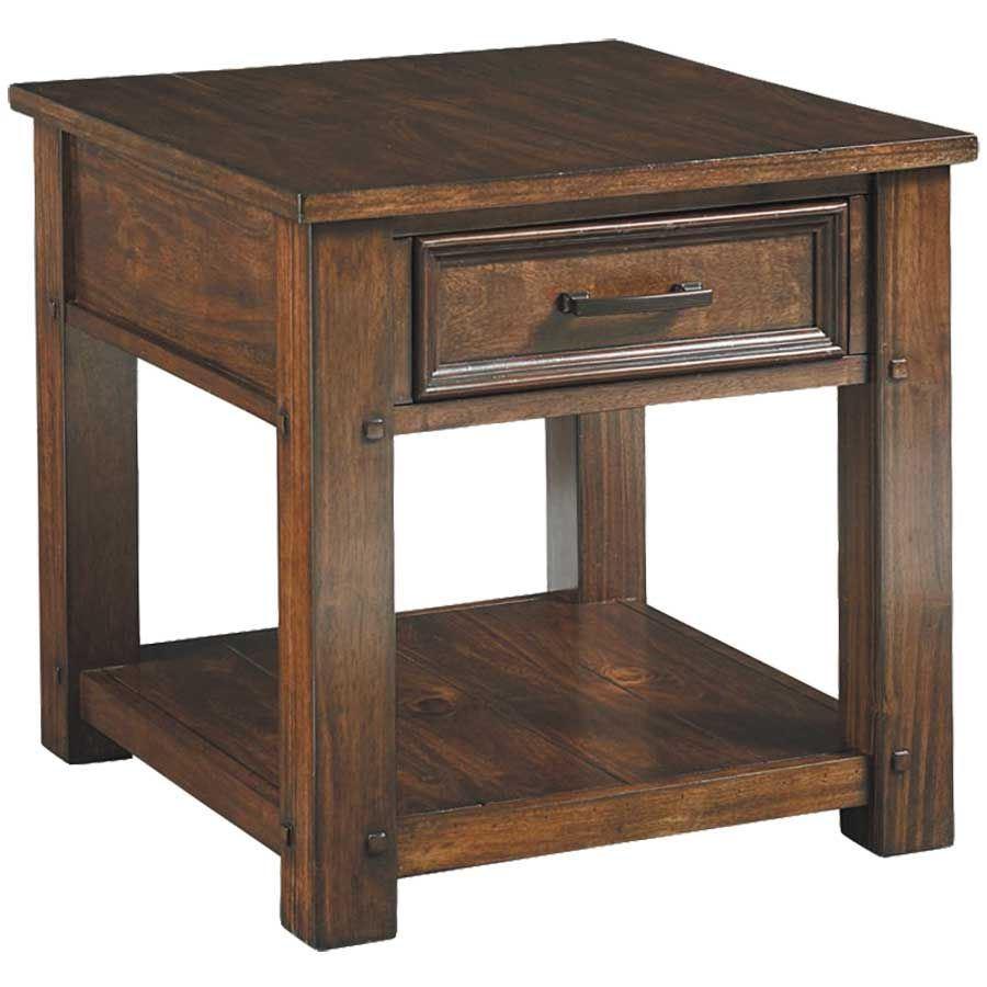 cameron end table with drawer 28882 standard furniture afw. Black Bedroom Furniture Sets. Home Design Ideas