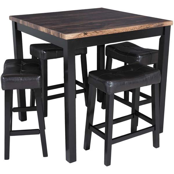 Kowloon 5 Piece Counter Dining Set