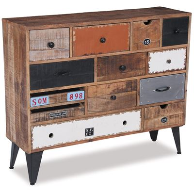 Imagen de 13 Drawer Vintage Industrial Chest