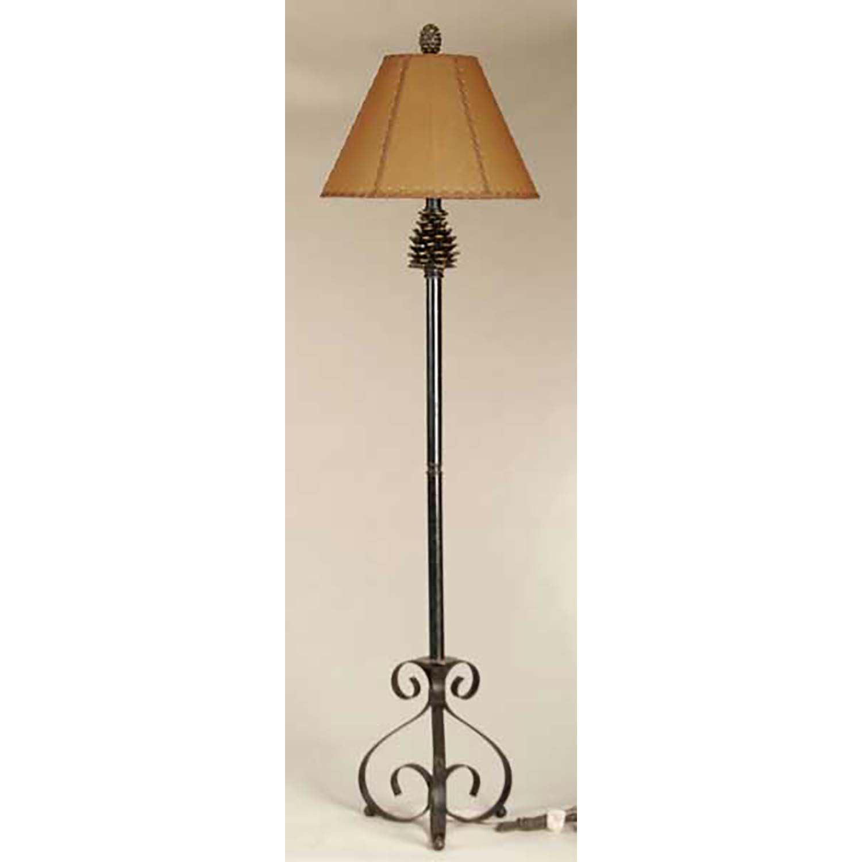 new concept 778ef 423c8 Pine Cone Floor Lamp 107-0052 | HMH H30052P1 | AFW
