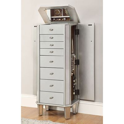 Picture of Jewlery Armoire, Silver *D