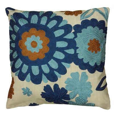 Picture of 18x18 Retro Floral Pillow