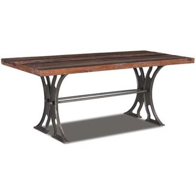 Imagen de Vintage Industrial Reclaimed Dining Table
