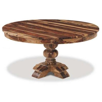 "Picture of Babu 60"" Round Natural Table"