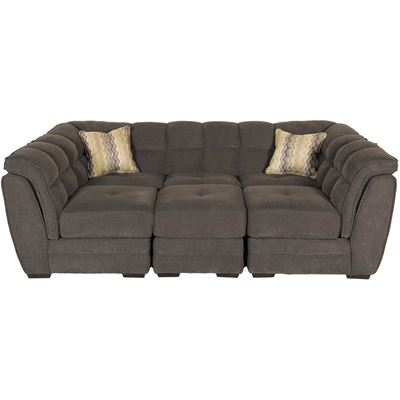 Picture of Clio Gray 4-Piece Pit Sectional