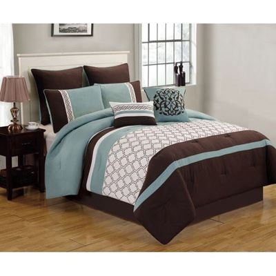 Picture of Teagan 8pc Queen Comforter Set