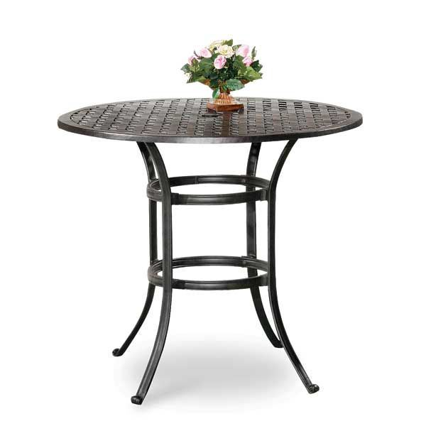 42 round counter height bar table ld10 l afw. Black Bedroom Furniture Sets. Home Design Ideas