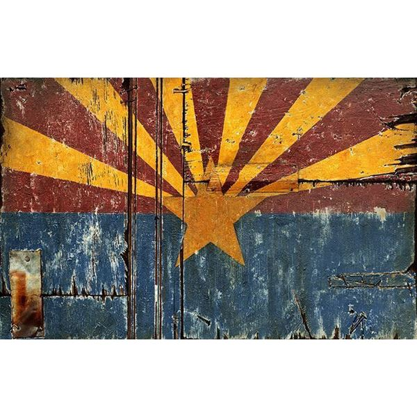 Arizona Flag 120 1320l Red Horse Designs Pp1320l Afw