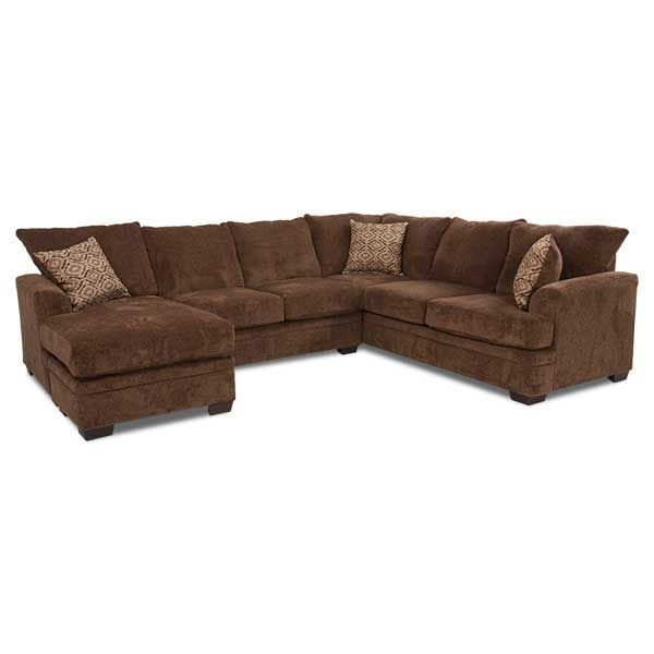 2pc Laf Chaise Cocoa Sectional C 68lc 2pc Afw Afw
