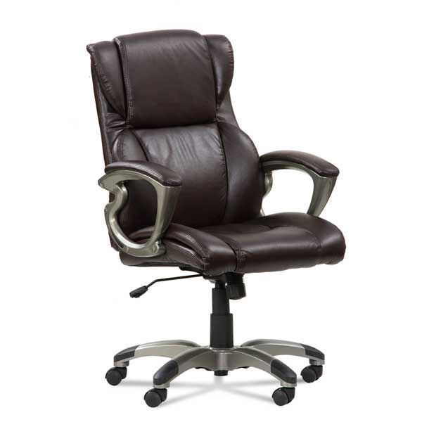 Foto Para Mid Back Lumbar Support Executive Chair