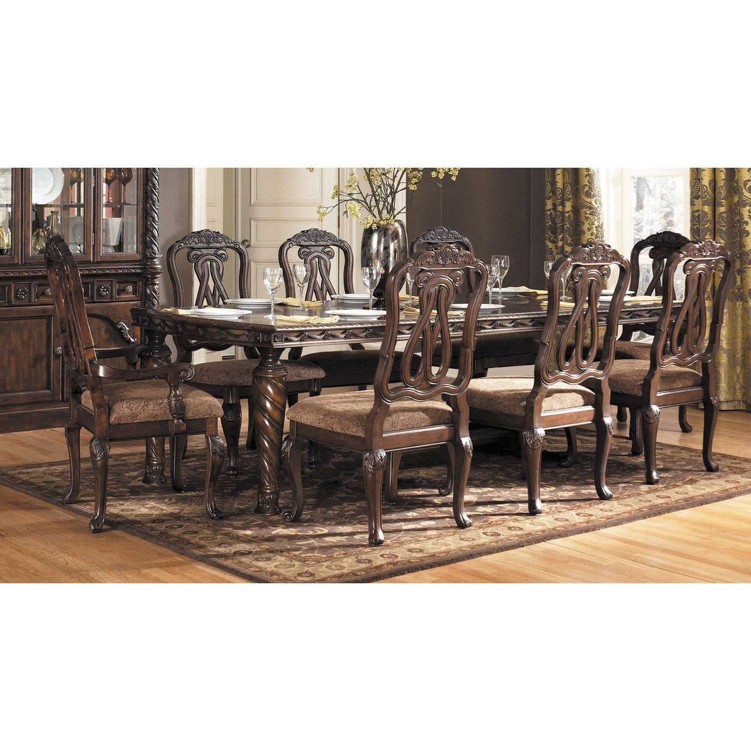 North Shore Dining Table D553 35 Ashley Furniture AFW