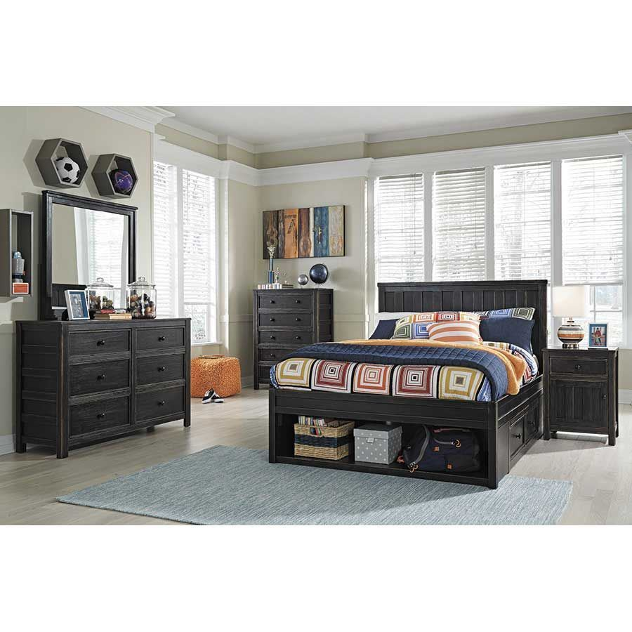 Jaysom full storage bed b521 fstrg ashley furniture afw - Ashley furniture full bedroom sets ...