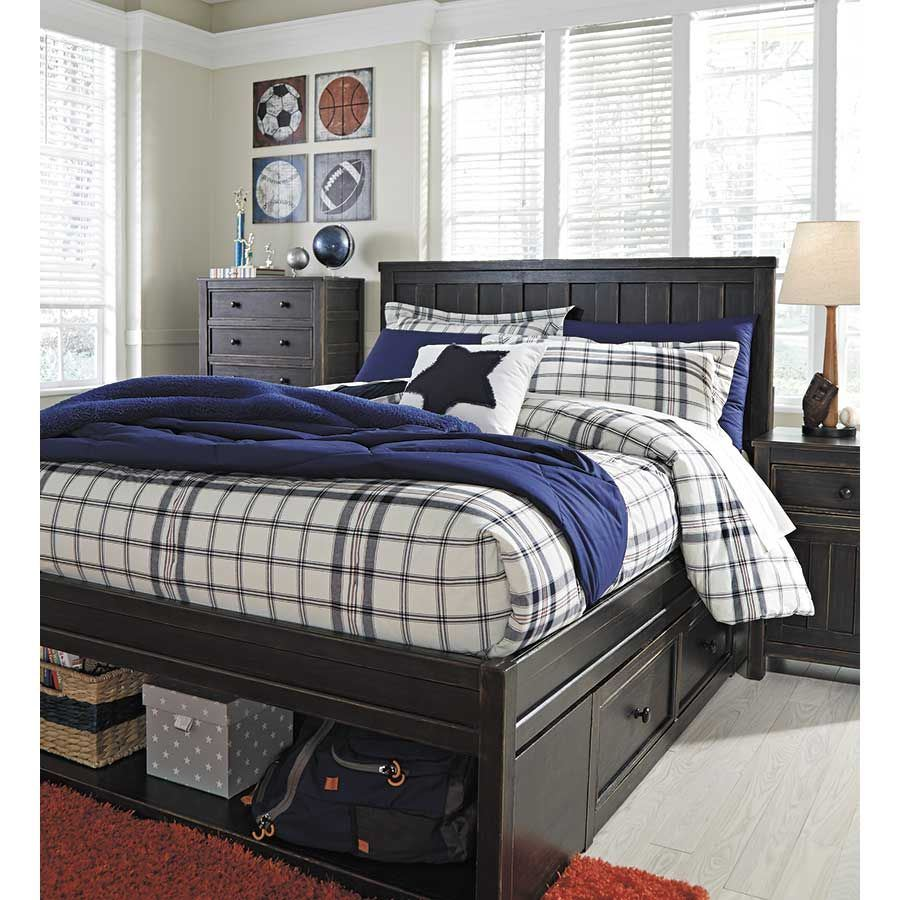 Ashley Furniture Manufacturing: Jaysom Full Storage Bed B521-FSTRG