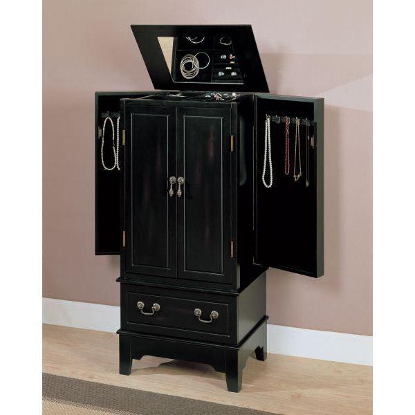 Jewlery armoire 900095 coaster company afw for Coaster co of america furniture