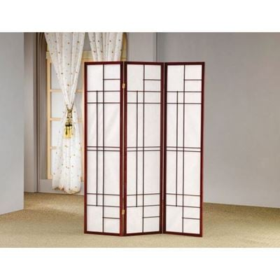Picture of Folding Screen, Brown Red *D