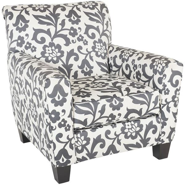 Levon Floral Accent Chair