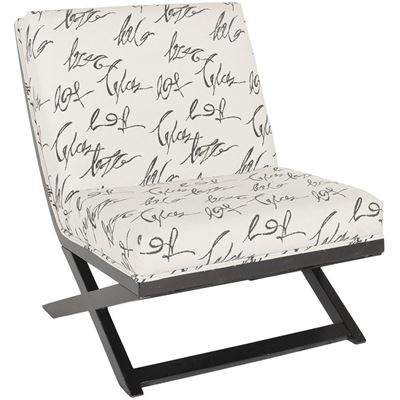 Picture of Levon Script Armless Chair
