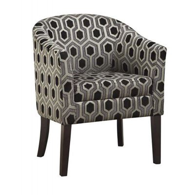 Picture of Accent Chair, Grey/Black *D