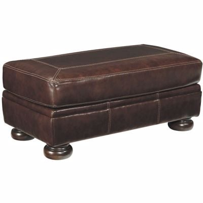 Picture of Banner Leather Ottoman
