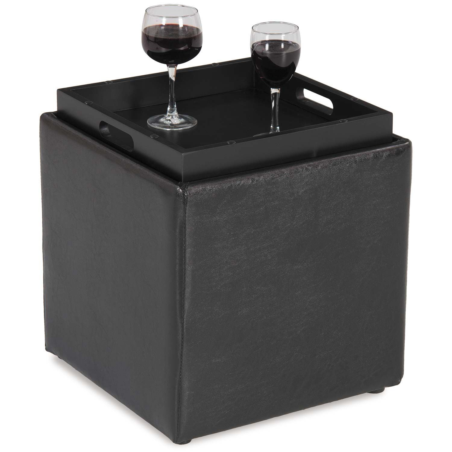 4a 06bl Blocks Black Storage Ottoman With Tray D Bf 06