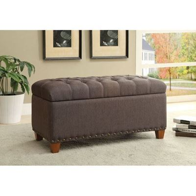 Picture of Storage Bench, Mocha *D