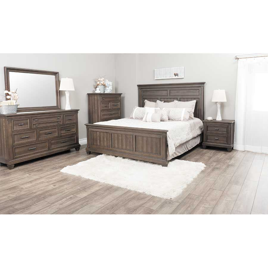 worcester 5 piece bedroom set 2237 qbed 03 04 11 36