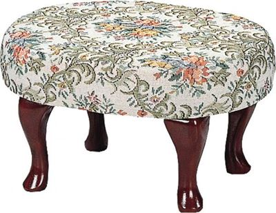 Picture of Beige/Green Stool *D