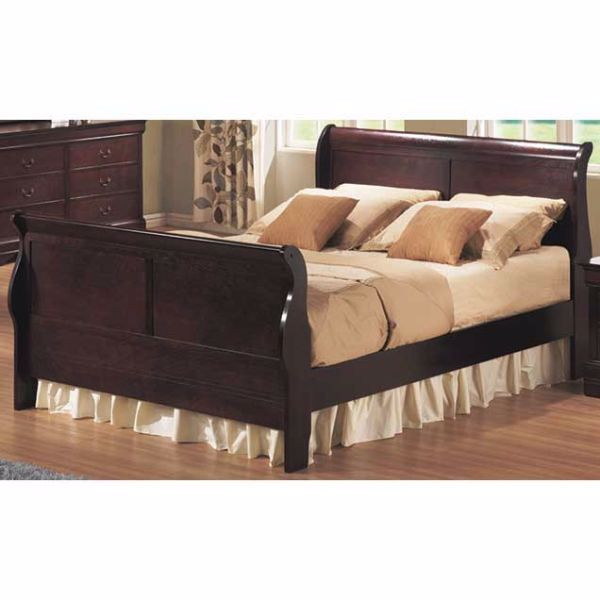 Bordeaux Twin Sleigh Bed