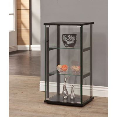 Picture of Curio Cabinet, Black *D
