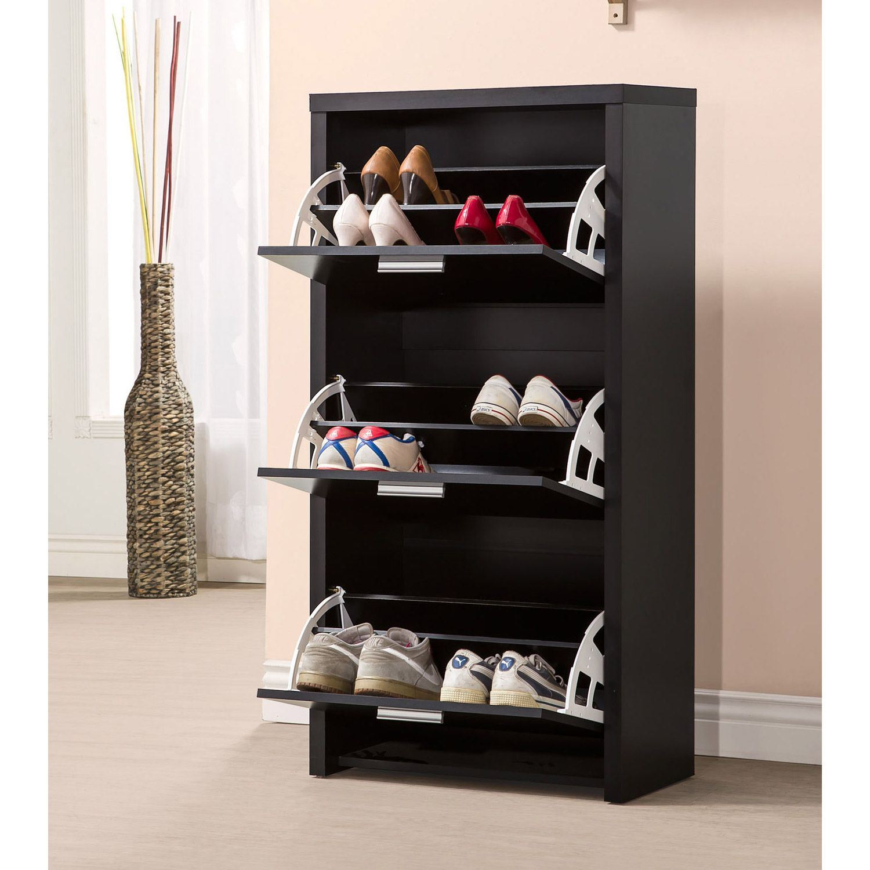 Shoe Cabinet Black 900604 Coaster Company Afw