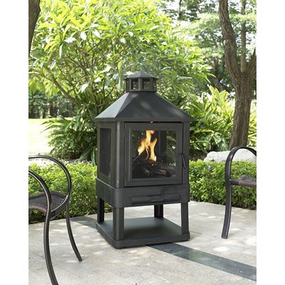 Picture of Monticello Firepit, Black *D