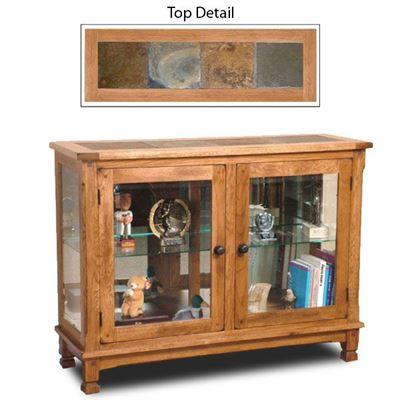 Picture of Sedona Console Curio Cabinet