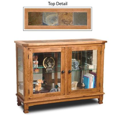 Imagen de Sedona Console Curio Cabinet