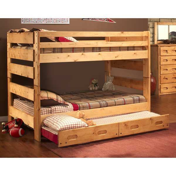 Bunkhouse Full Size Bunk Bed 4144-FBUNK Trendwood 4144 | AFW